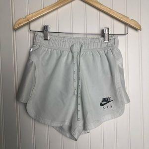 Nike Air White Mesh Side Athletic Shorts